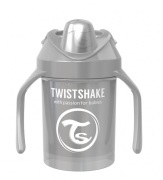 Twistshake Mini Cup 4+ mån 230ml, Pearl Grå
