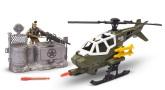 Soldier Force Attackhelikopter med förvarsmur