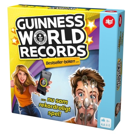 Alga Guinness World Records SE