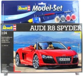 Revell Audio R8 Spyder, Modell-kit