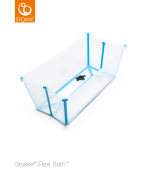 Stokke FlexiBath, Transparent/Turkos
