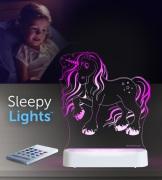 Aloka SleepyLights Nattlampa, Enhörning