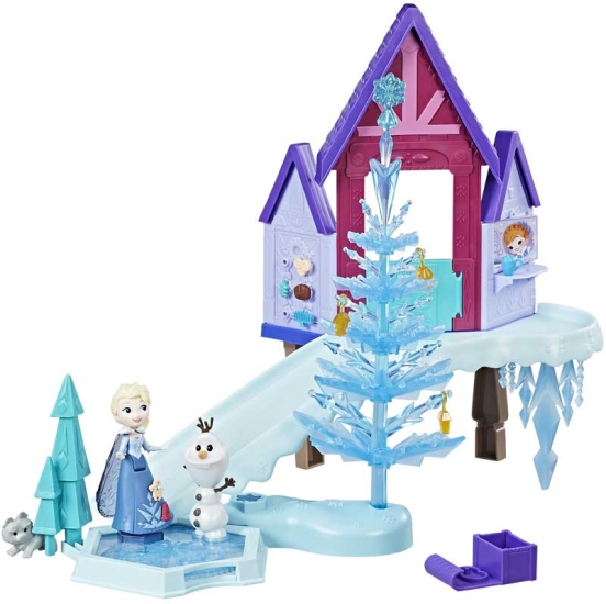 Frozen Small Doll Holiday Special Playset Nids4kids