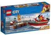 Lego City Eldsvåda i hamnen