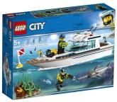 Lego City Dykaryacht