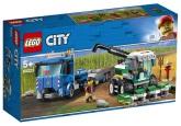 Lego City Transport för skördetröska