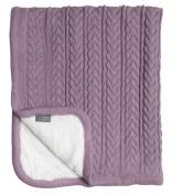 Vinter & Bloom Cuddly Filt, Soft Pink