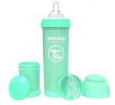 Twistshake Nappflaska Anti-Kolik-330ml, Mintgrön
