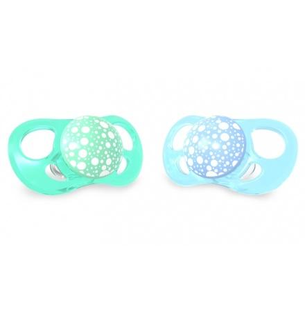 Twistshake Napp Large 2st, 6m+, Mintgrön/Babyblå