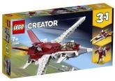 Lego Creator Futuristiskt flygplan