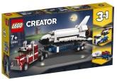 Lego Creator Transport för rymdfärja