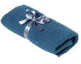 NG Baby Gallerfilt 75x100, Dusty Blue