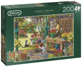 Pussel Garden in Bloom XL 200 bitar, Falcon