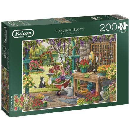 Pussel Garden in Bloom XL 200 bitar, Falcon