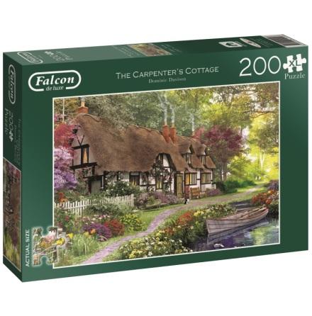 Pussel Carpenter's Cottage XL 200 bitar, Jumbo