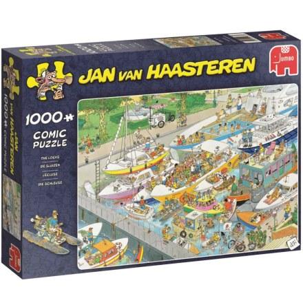 Pussel Jan van Haasteren The Locks 1000 bitar, Jumbo