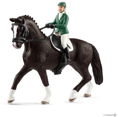 Schleich Hoppryttare med häst