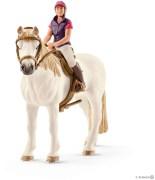 Schleich Fritidsryttare med häst