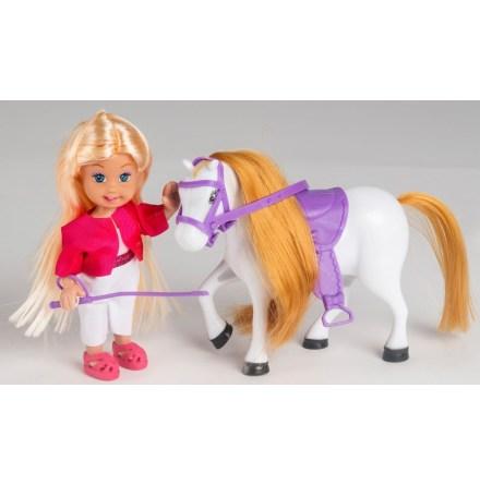 Sally Docka med Häst och Tillbehör