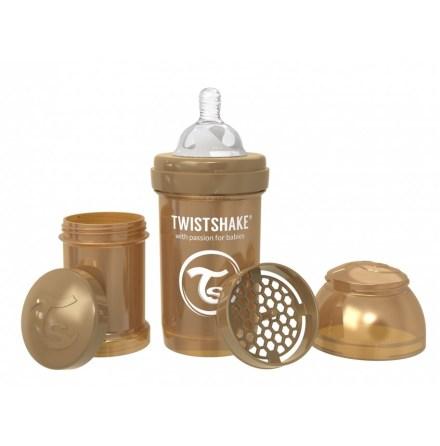 Twistshake Nappflaska Anti-Kolik-180ml, Pearl Koppar