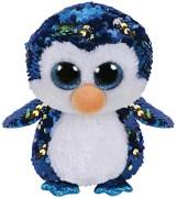 TY Flippables Payton Blå Paljett Pingvin