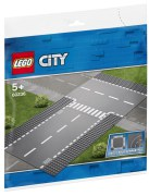 Lego City Rak väg och T-korsning