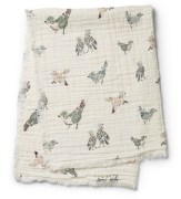 Soft Cotton Blanket, Feathered Friends
