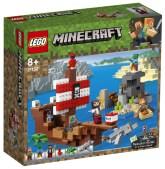 Lego Minecraft Piratskeppsäventyr
