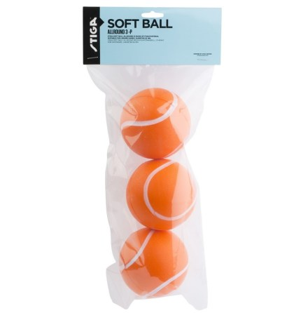 Stiga Soft Ball Allround 3-pack