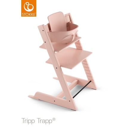 Tripp Trapp Baby Set, Serene Pink