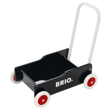 BRIO Lära-gå-vagn, Svart