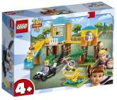 Lego Disney Pixar Toy Story 4 Buzz & Bo Peeps lekplatsäventyr