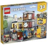 Lego Creator Djuraffär och kafé