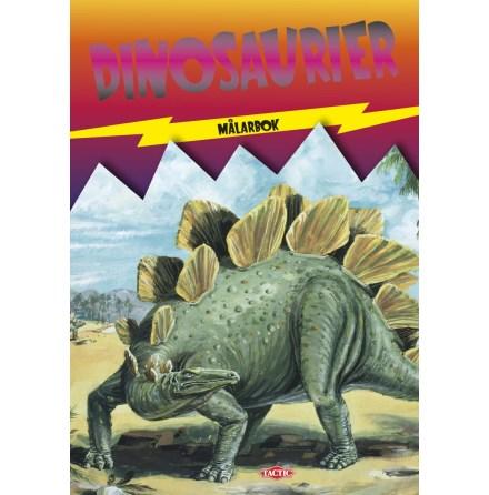 Dinosaurier, Målarbok