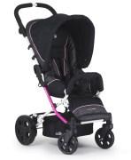 Crescent Compact 360, Black/Pink