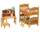 Sylvanian Families Barnkammare med våningssäng