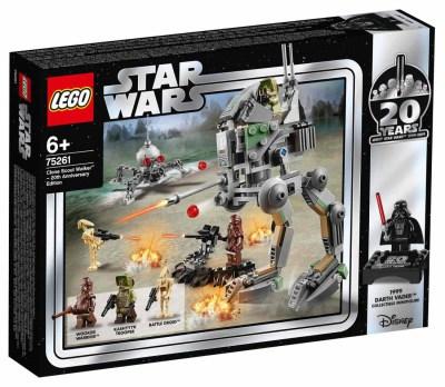Lego Star Wars Clone Scout Walker - 20-årsjubileumsutgåva