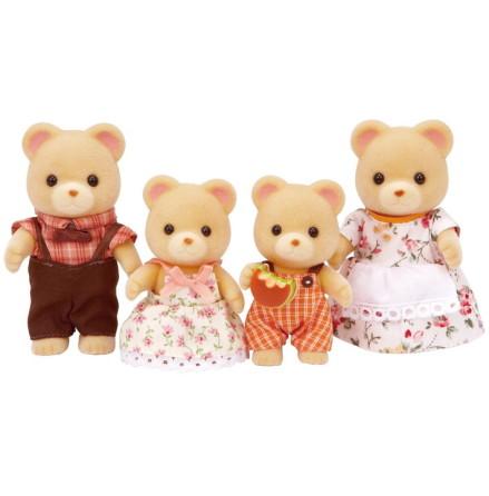 Sylvanian Families Mysbjörn Familjen