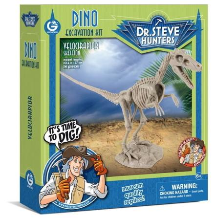Dino Excavation Kit, Velociraptor
