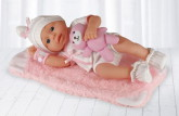 Happy Friend New Born Girl Soft Doll 30cm