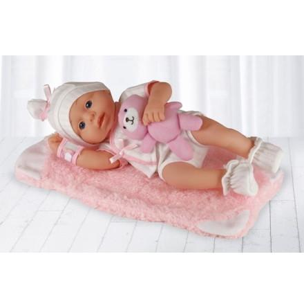 Happy Friend New Born Girl Soft Doll 30cm