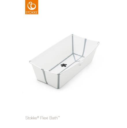 Stokke Flexi Bath X-Large, White/Grey