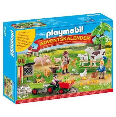 Playmobil Adventskalender På bondgården