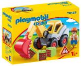 Playmobil 1.2.3 Grävskopa