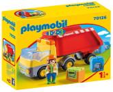 Playmobil 1.2.3 Dumper med tippflak