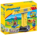 Playmobil 1.2.3 Byggkran