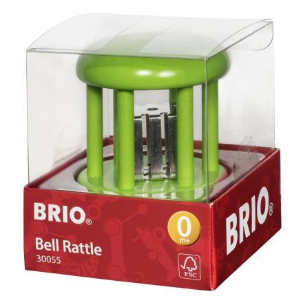 BRIO Bjällerskallra baby enfärgad, Grön