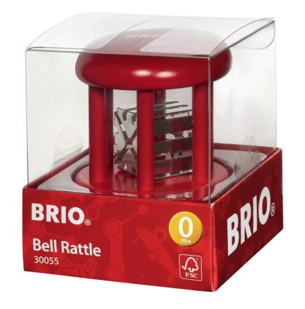 BRIO Bjällerskallra baby enfärgad, Röd