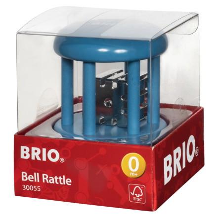 BRIO Bjällerskallra baby enfärgad, Blå