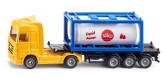 Siku Lastbil med Tankcontainer 1:87